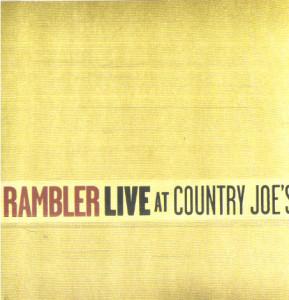 Live at Country Joe's